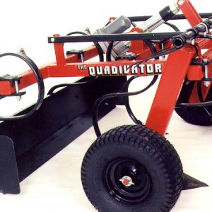 Quadivator Cultivator ATV Attachment - Box Scraper