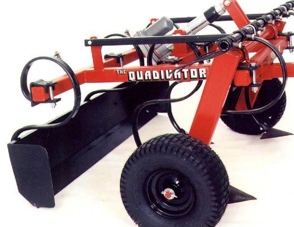 Quadivator Cultivator ATV Attachment - Box Scraper