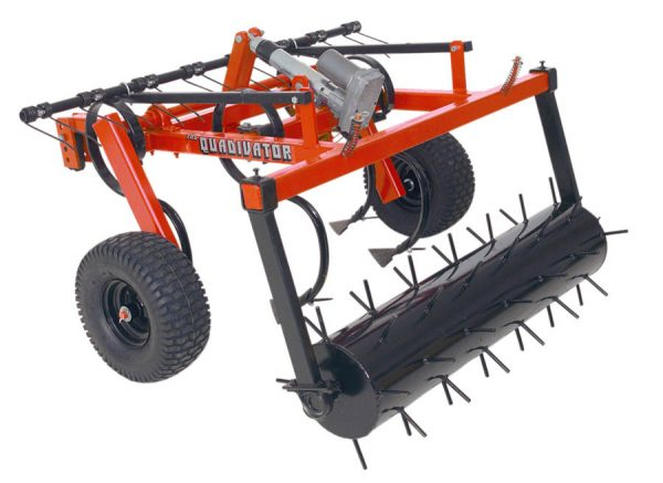 Quadivator Cultivator ATV Attachment - Lawn Aerator