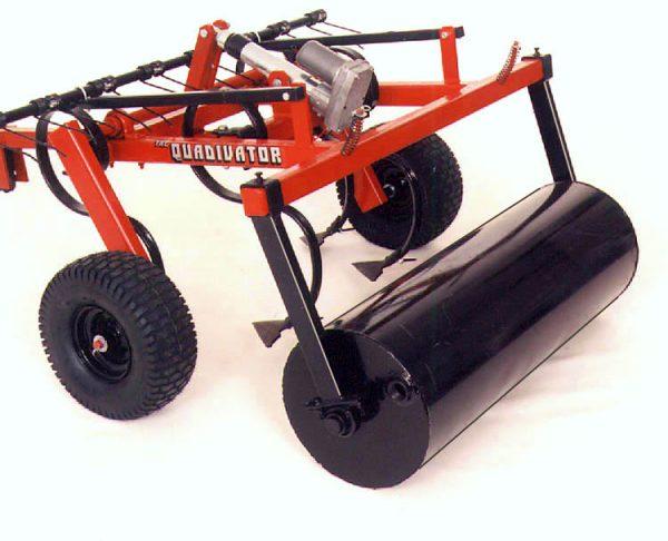 Quadivator Cultivator ATV Attachment Lawn Roller Attachment