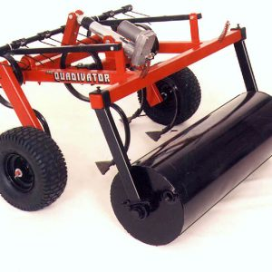 Quadivator Cultivator ATV Attachment - Lawn Roller