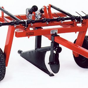 Quadivator Cultivator ATV Attachment Lawn Irrigation plow