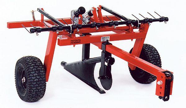 Quadivator Cultivator ATV Attachment Lawn Irrigation plow
