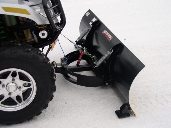 Quadivator EZ Pivot Snow Blade for ATV & UTV