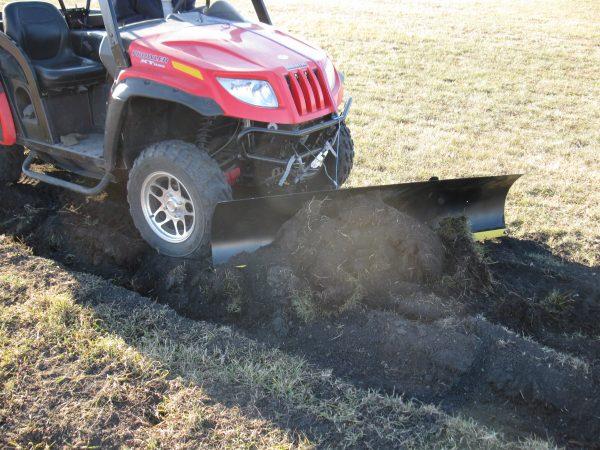 Quadivator ATV & UTV blade snow dirt and gravel