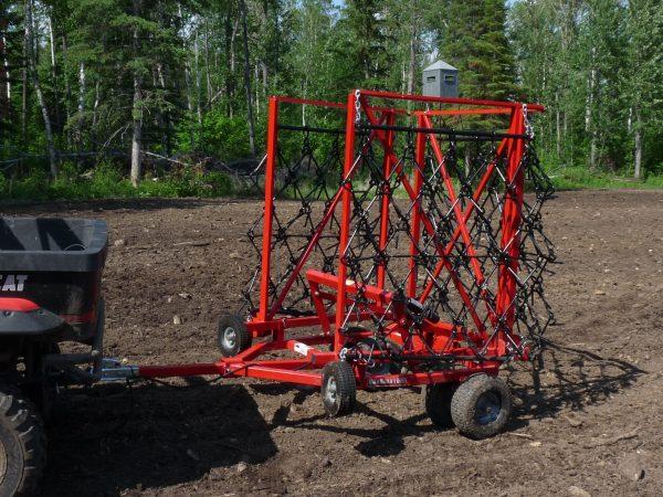 Quadivator ATV UTV Attachment Harrow
