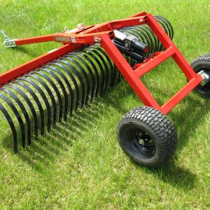 Quadivator UTV ATV Attachment Landscape Rake