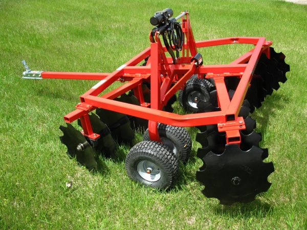 Quadivator ATV UTV Attachment Tandem Disc