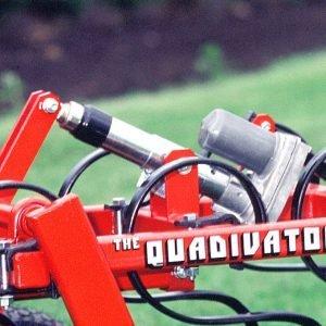 Deluxe Quadivator Cultivator Muli-purpose ATV Implement Actuator