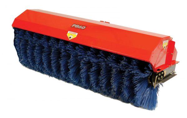 Quadivator ATV Power Broom Brush